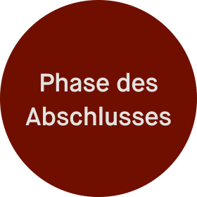 Phase des Abschlusses